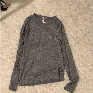 Grey Lululemon long sleeve Shirt